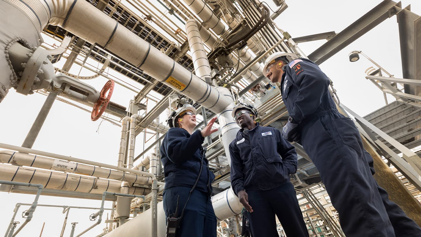 Chevron Phillips Chemical thrives on diversity and inclusion.