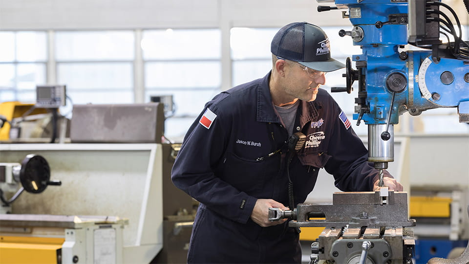 Chevron Phillips Chemical employs diligent process and manufacturing specialists for a variety of challenging roles at production facilities all over the world.