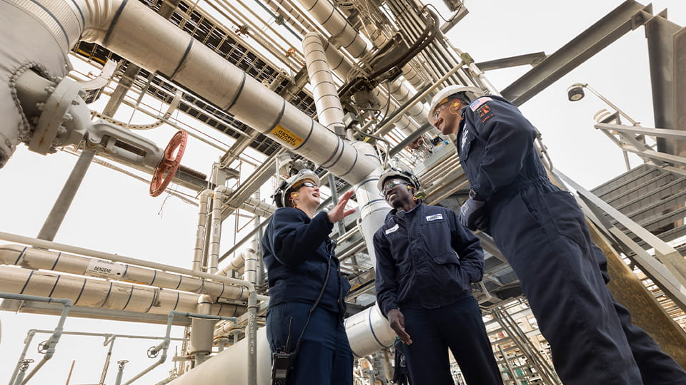 Chevron Phillips Chemical thrives on a blend of experience levels, cultures, talents, perspectives and decision-making styles.