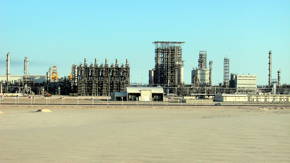 In 2003, Q-Chem inaugurated its petrochemical complex in Mesaieed, Qatar.